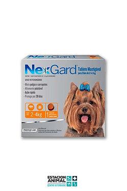 Nexgard Perros (2 a 4 kg)