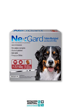 Nexgard Perros (25 a 50 kg)