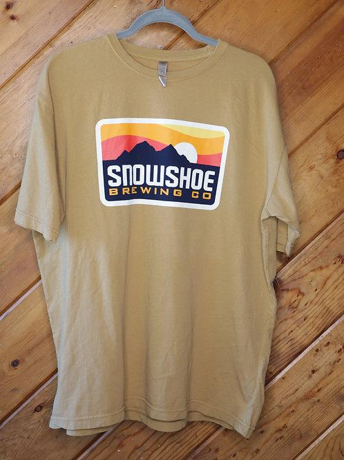 Tan Snowshoe Short Sleeve Shirt
