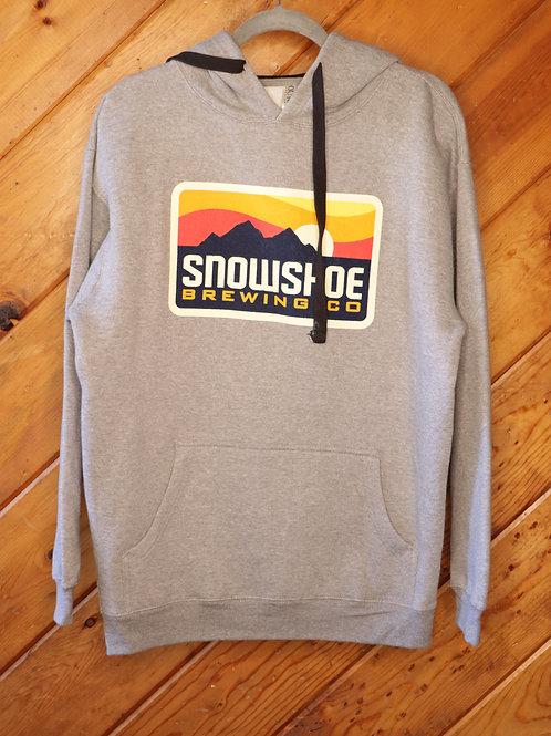 Light Grey Snowshoe Hoodie