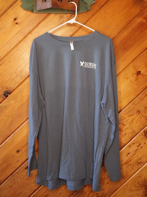 Classic Snowshoe Logo Long Sleeve Shirt
