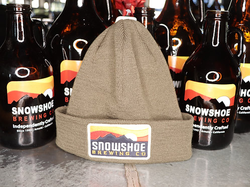 Olive Snowshoe Beanie