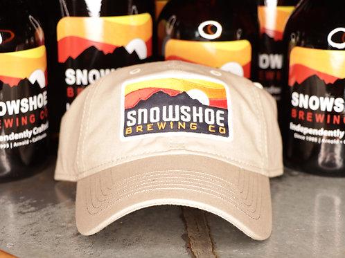 Tan Snowshoe Dad Hat