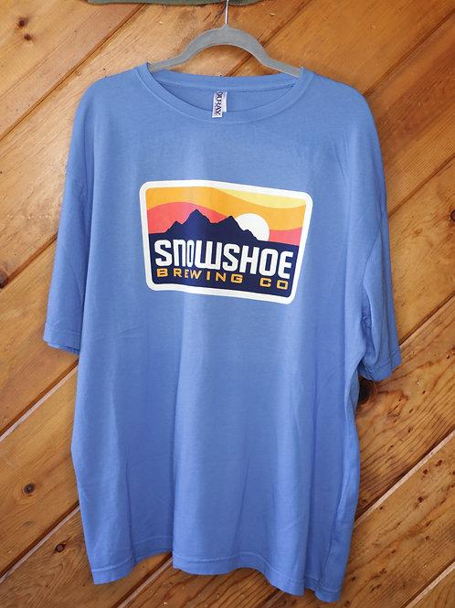 Light Blue Snowshoe Shirt