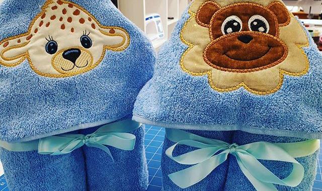 Towel hoodies