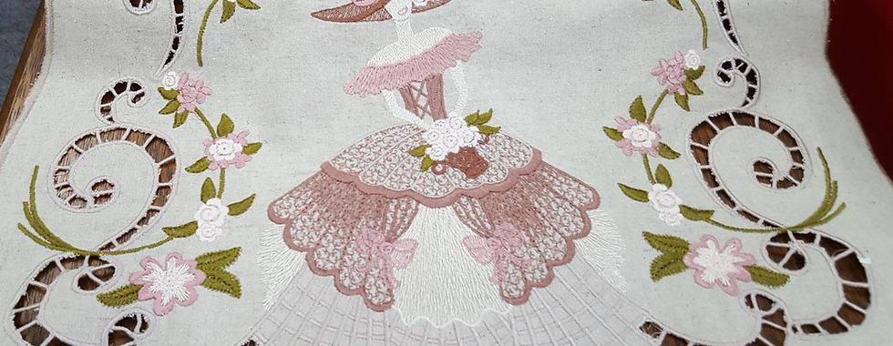 Cutwork embroidery