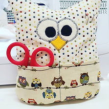 Kids Sewing class Owl Stuffie pin cushio