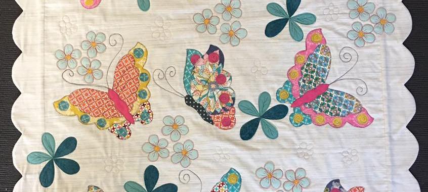 Applique Butterfly Quilt