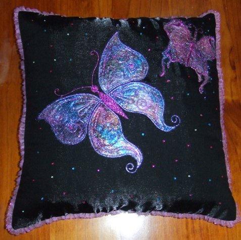 Angelina Fibre Butterfly cushion