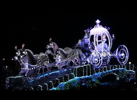 【Disney 顔くらべ】エレクトリカルパレードは地上の星座