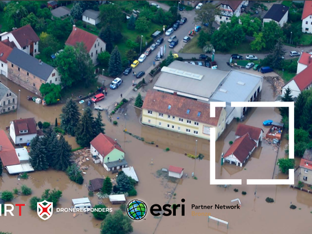 AIRT Helps Save Lives with Drones, Esri ArcGIS, and other Location Intelligence Technologies