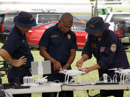 First Responders and State Universities join AIRT to hold 2nd Annual UAS DRONES Disaster Exercise