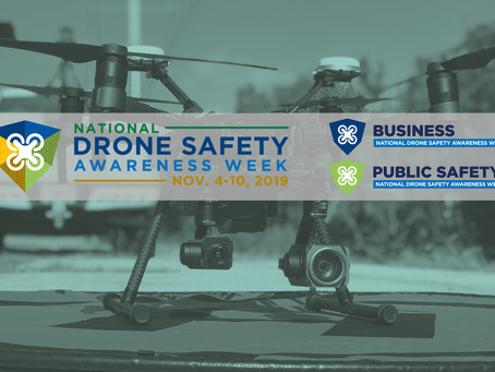 'Drones are Now': UAS Industry Leaders Partner to Kick Off FAA National Drone Safety Awareness Week