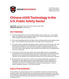 DRONERESPONDERS Special Report Chinese s
