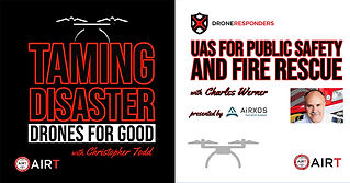 Podcast TAMING DISASTER Drones for Good