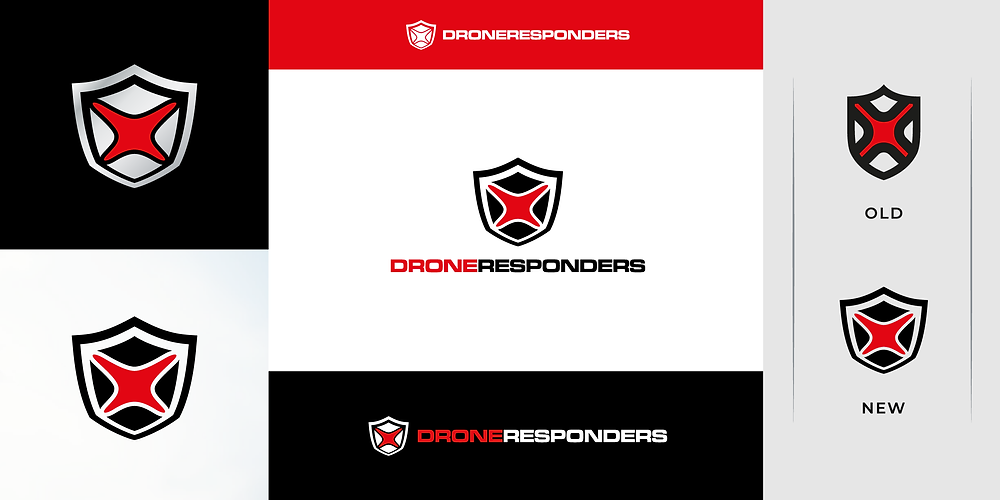 New DRONERESPONDERS Logo Brand Identity Unveiled Released