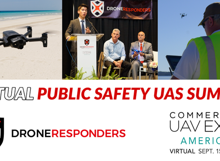 Commercial UAV Expo Virtual Conference to Feature DRONERESPONDERS Public Safety UAS Content by AIRT