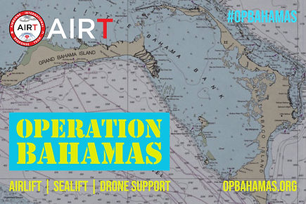 AIRT Operations Bahamas drone suport air