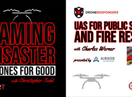 AIRT, AiRXOS, FIRST iZ, and Pix4D Team Up to Launch New Podcast Series Dedicated to Drones For Good