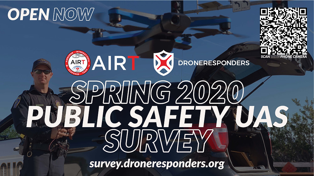 AIRT DRONERESPONDERS Spring 2020 Public Safety UAS Survey