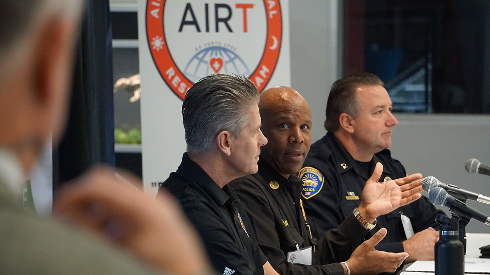 Public Safety leaders discuss drone operations at the 2019 UAS DRONES Disaster Conference in Los Angeles.