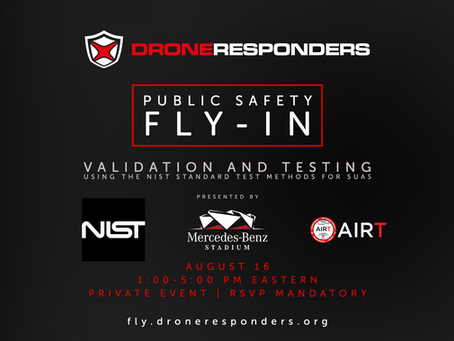 DRONERESPONDERS FLY-IN at Mercedes Benz Stadium at XPONENTIAL