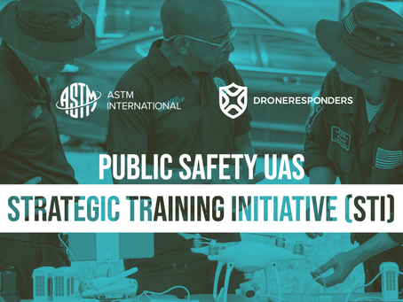 ASTM International Partners with DRONERESPONDERS to Standardize Public Safety UAS Training