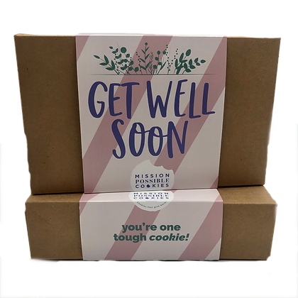 Get Well Soon Cookie Box