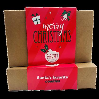 Merry Christmas Cookie Box
