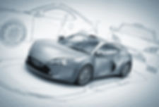 bosquejo del coche