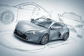 자동차 스케치