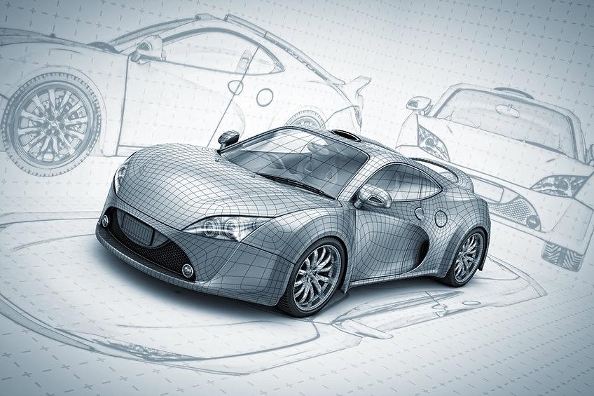 Sketch voiture