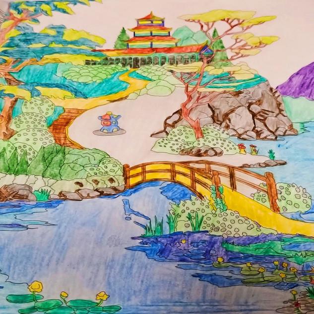 66. Japanese Landscape by Christopher