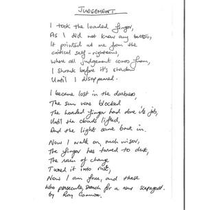 64. Judgement by Raymond