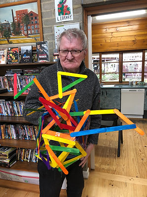 Peter Quinn pictured with Sculpture no 1.JPG
