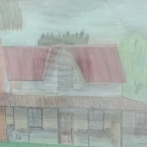 88. Shack on the Praire by David