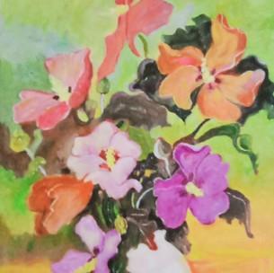 6. Flowers in Vase by John F