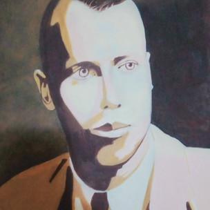 8. Jeffrey Smart Portrait by John F