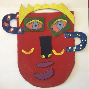 19. Picasso-esk Mask by Jen