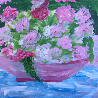 27. Flowers on the Table by Shona