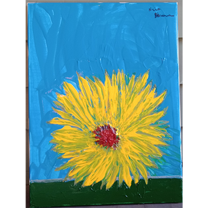6. Sunflower at Dusk/May 2019 by Nick