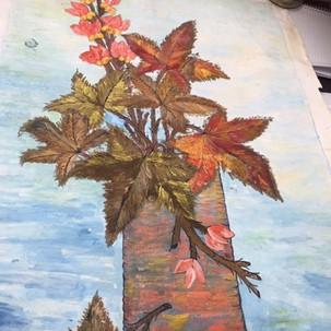 1. Those Autumn Leaves by Sandra