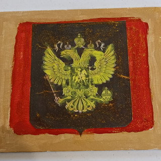 85. Russian Emblem by Victor