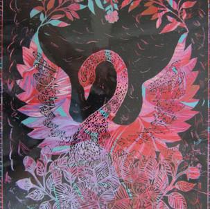 80. Beautiful, gracious swan by Beverley