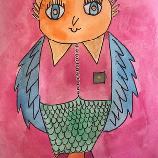 20. Quirky Owl by Jen