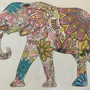 15. Elephant Walk by Shirley