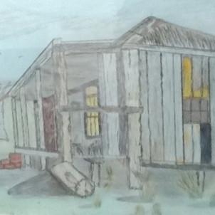 87. Farm Homestead by David