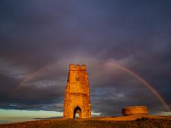 Rainbow over the Tor