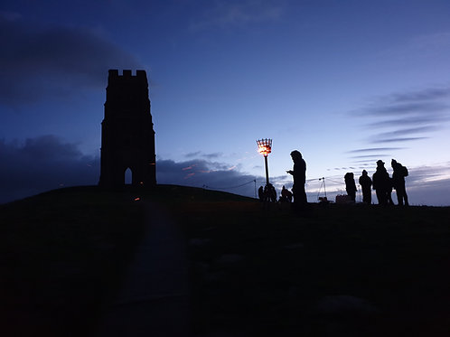 Limited Edition Print of The Beacon on Glastonbury Tor