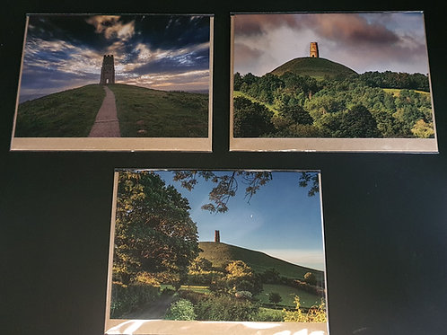 Glastonbury Tor Greetings cards (Collection 2)